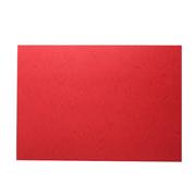 史泰博  210G云彩纸 100张/包 A4 红色