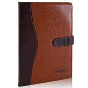 广博 GB25708 仿皮面搭扣型笔记本 25K 棕色 120页