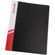 易达 88017 PP文件夹 单强力夹 A4 黑色
