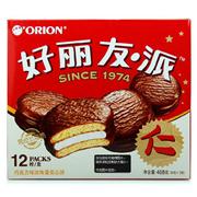 好麗友   巧克力派 34g*12