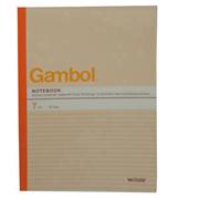 渡边 G4507  横翻线装订笔记本 A4 混色 50页 10本/封