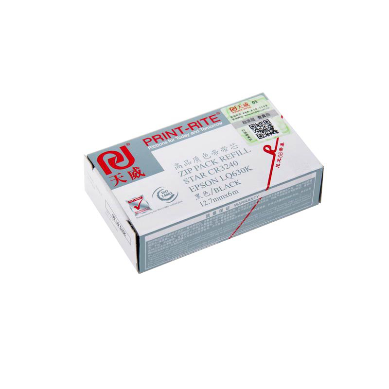 天威 CR3240/EPSON LQ630K 黑色色带芯 RFR065BPRJ