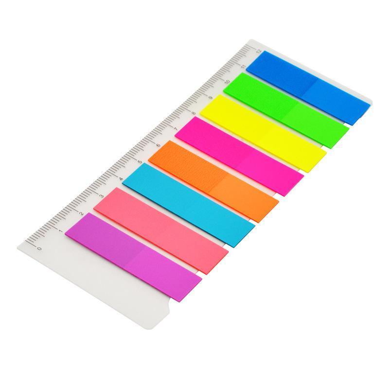 """ope电竞娱乐 34036 透明塑料指示标签 2""""x0.5"""",8条/包,10张/条  8色"""