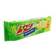 康师傅   3+2苏打夹心饼干葱香奶油味 100g+赠25g