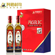 阿格利司   橄榄油F型礼品盒 500ml*2  礼盒