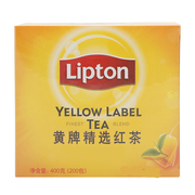 立顿   黄牌精选红茶 S200 400g