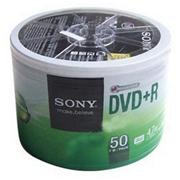索尼 4.7G/16X DVD+R光盘 (50片筒装)