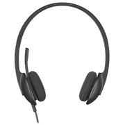 罗技 H340 USB耳机麦克风 黑色