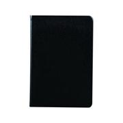 史泰博  平裝仿皮筆記本  25K,80頁 黑色