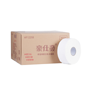 豪仕發 HF1225B 1.雙層240米大卷紙 12卷/箱    廁紙