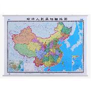 国产  中国地图 (全中文)(1.1M*1.5M)
