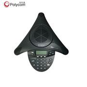 寶利通 會議電話機八爪魚  SoundStation 2標準型  音頻視頻會議系統一體機   全向麥克風終端 黑色