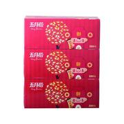 五月花A19613S/A196130盒装面纸200抽3盒/提12提/箱