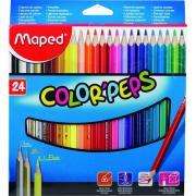 马培德 183224CH 彩色铅笔   24色