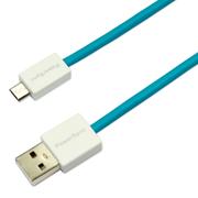 包尔星克 USB2-ERMIB156 micro数据线 1.5米 蓝色 USB2.0