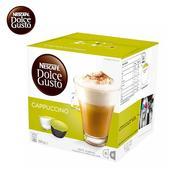 雀巢 卡?#35745;?#35834; CAPPUCCINO DOLCE GUSTO 咖啡?#32791;?16颗/盒(200g)  16个/盒 英国