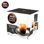 雀巢 ESPRESSO INTENSO意式浓缩 DOLCE GUSTO咖啡?#32791;?16颗/盒(112g)  16个/盒 英国