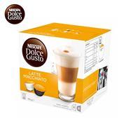 雀巢 LATTE MACCHIATO拿鐵瑪奇朵 DOLCE GUSTO咖啡膠囊 16顆/盒(194g)  16個/盒 英國