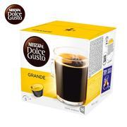 雀巢 GRANDE 美式醇香咖啡 DOLCE GUSTO 咖啡?#32791;?16颗/盒(128g)