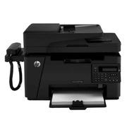 惠普 M128fp 黑白激光多功能一体机(CZ185A) A4    (打印、复印、扫描、传真、有线网络、手柄)