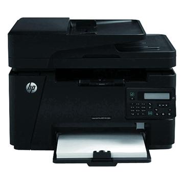 惠普 LaserJet Pro MFP M128fn 黑白激光多功能一体机(CZ184A) A4 1台 (打印、复印、扫描、传真、有线网络)