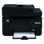 惠普 LaserJet Pro MFP M128fn 黑白激光多功能一體機(CZ184A) A4  1臺 (打印、復印、掃描、傳真、有線網絡)