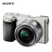 索尼 ILCE-6000L+16-50镜头 微单套机   银色