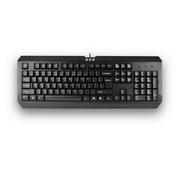 雙飛燕 K-100 USB有線鍵盤  黑色