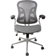 ope电竞娱乐 BT-2779M 精英系列迅舰椅品灰款  67.5cmW*64cmD*98.5~106cmH 灰色 需客户自己组装