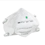 3M 9062 自吸過濾式防顆粒物呼吸器隨棄式面罩(口罩)   無呼吸閥 25個/袋