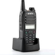 海能达 TC585 对讲机 5W 黑色   256个信道、32个组和32个常用联系人列表、DTMF信令编解码(原好易通)