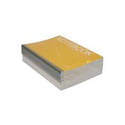 史泰博 PBN540 40頁膠裝筆記本 148*210mm A5  陽光橙色