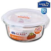 樂扣樂扣 LLG831 玻璃保鮮盒 155*155*75 650ML 透明色