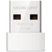 水星 MW150US 150M無線網卡,USB接口 超小型150M 白色