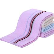 潔麗雅 6638 緞檔多臂柔軟毛巾 70*34CM   顏色隨機