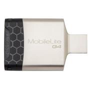 金士顿 FCR-MLG4 USB 3.0 MobileLite G4 多功能读卡器  银色