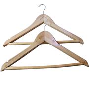 國產  木質衣架(10支裝) 44.5*20cm 原木色