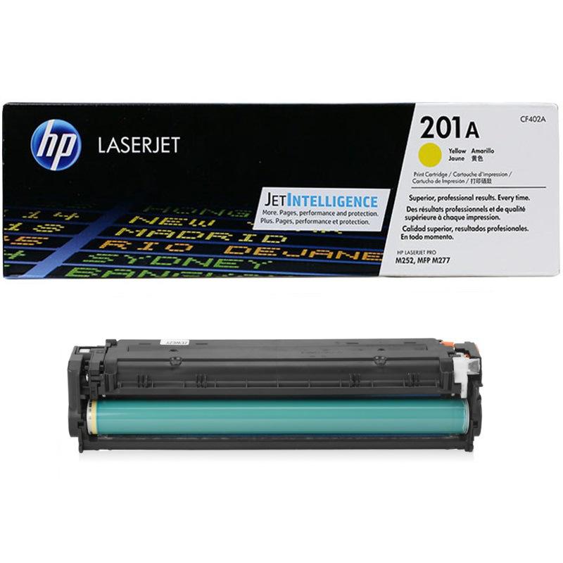 惠普 CF402A 硒鼓 1400页 黄色   201A(适用HP Color LaserJet Pro M252/Color LaserJet Pro MFP M277系列)