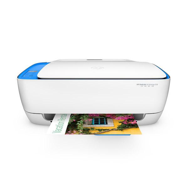 惠普 Deskjet 3638 彩色噴墨一體機(F5S46B) A4  (打印、復印、掃描、無線網絡)