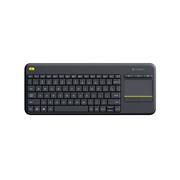 罗技 K400 plus 无线触控键盘  黑色