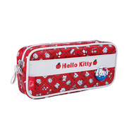广博 KT85002 kitty猫系列卡通皮质笔袋   20*9*5cm