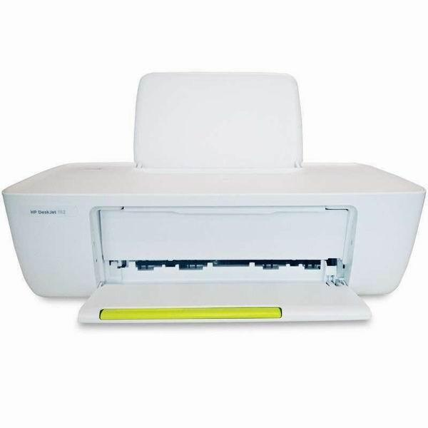 惠普 DeskJet 1112 噴墨打印機(K7B87D) A4  (打印、有線網絡)