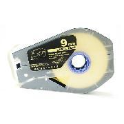 凯普丽标 LB-109Y 线号机标签贴纸 长度:30米/盘;宽度:9MM 黄色 丽标线号机标配标签贴纸