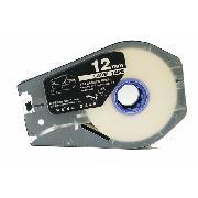 凯普丽标 LB-112W 线号机标签贴纸 长度:30米/盘;宽度:12MM 白色 丽标线号机标配标签贴纸