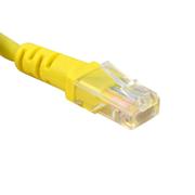 酷比客 LCLN5EYWM-3M-JD 超五類網線  黃色 用于電腦 路由器 交換機等設備之間相互連接