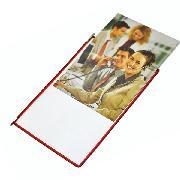 装得快  挂壁翻页文件夹  10个/包 红,黄,蓝,绿,黑5个颜色随机
