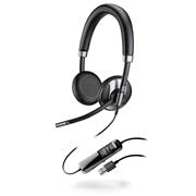 缤特力 Blackwire C725 统一通信耳机   电脑专用,双耳听筒,主动降噪ANC技术,UC标准版