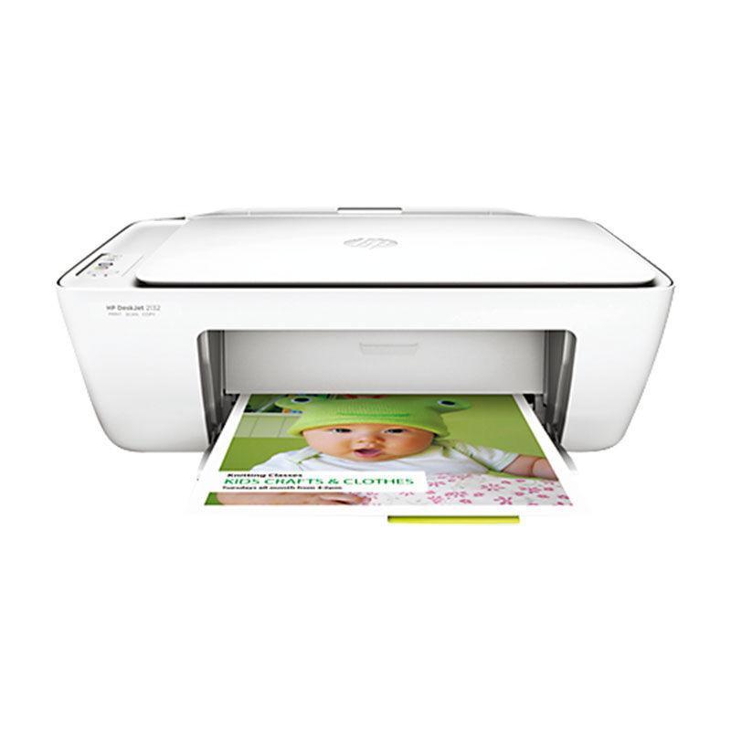 惠普 Deskjet 2132 噴墨一體機(F5S41D) A4  (打印、掃描、復印)