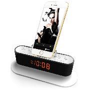 RSR CL12 苹果手机充电底座音箱  黑色 无线蓝牙迷你收音机音箱(适用iphone6手机)