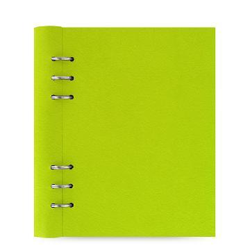 斐来仕 023616 Clipbook系列剪贴簿PU活页记事本 A5 梨黄色